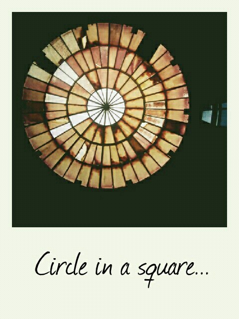 Circle in a square...