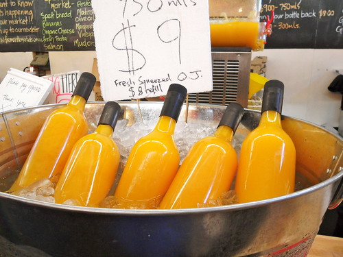 Fremantle Markets Fresh OJ