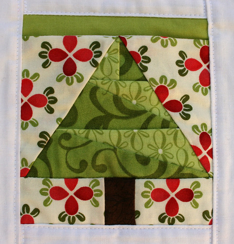 Countdown to Christmas tree block