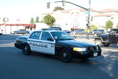 A Police Car Drive By (rocketdogphoto) Tags: california usa policecar sanpablo fordcrownvictoria contracostacounty sppd sanpablopolicedepartment