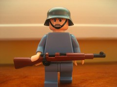 Painted Brickarms Kar98k (Da-Puma) Tags: world 2 two germany war paint lego prototype ww custom picnik modded brickarms