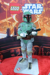 LEGO Boba Fett Statue at the LEGO booth - San Diego Comic Con