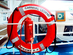 DSC01458 (Kari Lewis) Tags: cruise carnival red boat ship safety legend lifepreserve