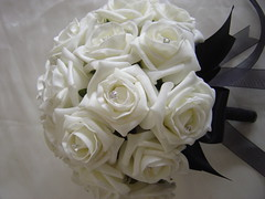 Black White Bouquet