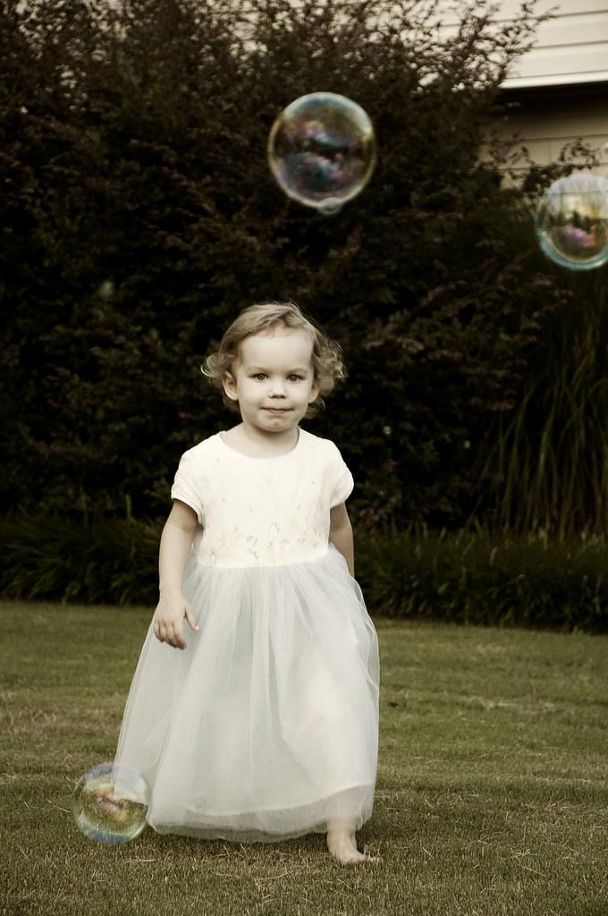 Princess Paige Chasing bubbles