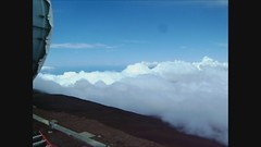 10,000 feet up on Haleakala Crater (Herb In Hawaii) Tags: ocean park blue sea sky usa plant mountains clouds island hawaii rocks driving pacific bluesky maui hills pacificocean haleakala crater silversword moutain flyover sunnyday mountaintop deepbluesea haleakalacrater 10000ft
