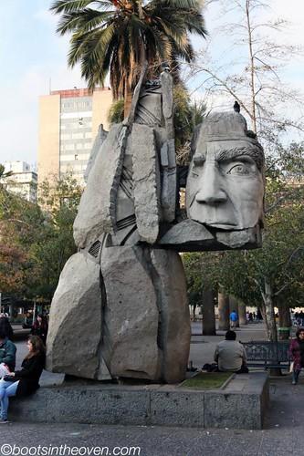 Art in Plaza de Armas