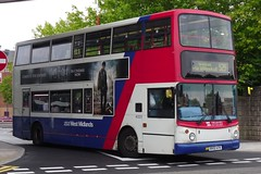 Travel West Midlands Dennis Trident 2/Alexander ALX400 4323 (BX02 ATK) (john-s-91) Tags: wolverhampton travelwestmidlands 4323 alexanderalx400 dennistrident2 route529 bx02atk harrypotterandthedeathlyhallowspart2