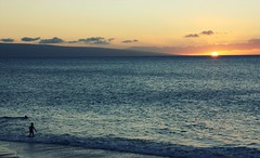 down by the sea (coco lores.) Tags: sunset hawaii paradise maui pacificocean canoneos450d