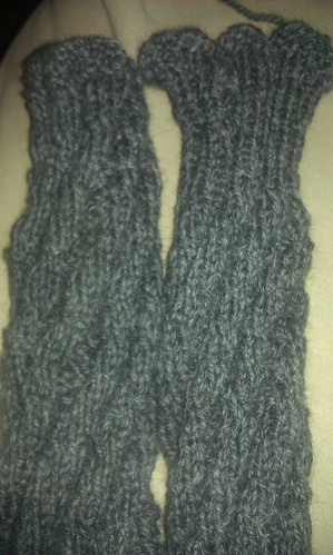 Top and bottom of socks by mad4marvin