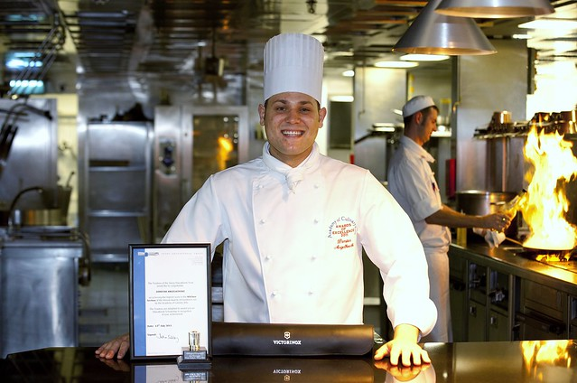 Turnberry Hotel trainee beats top chefs to win national title