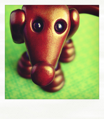 Sneak Peek | Oh so shiny robot dog by HerArtSheLoves