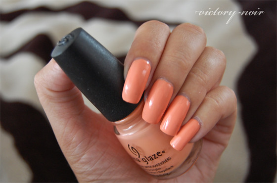 China Glaze Peachy Keen DSC_5226