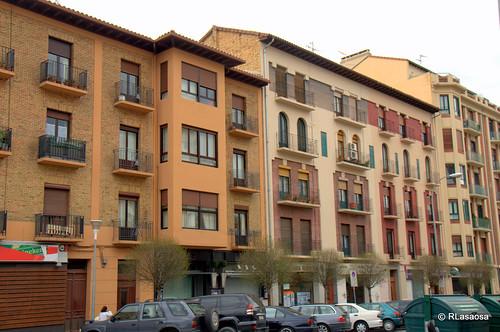 Edificios de viviendas en la calle Olite.