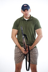 Nerboo Holds The Gun (Southern Scene Photography) Tags: brad fun kevin gun photoshoot doc nerboo