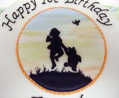 Winnie the Pooh close-up (Alixs Cakes) Tags: painting winniethepooh ehshepard runout alixscakes