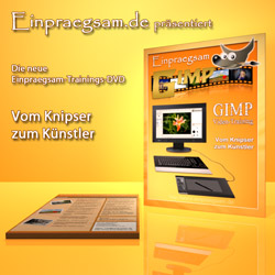 GIMP-Trainings-DVD - Tutorials zur digitalen Bildbearbeitung