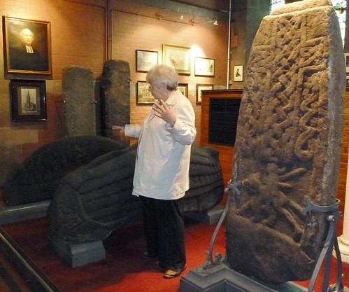 Pictish carved Stones at Govan Old Church