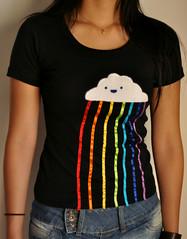 rainbow rain! (milena rosa) Tags: arcoiris rainbow feliz camiseta