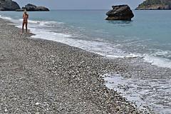 Back in September (Eleanna Kounoupa) Tags: sea holiday beach rock pebbles greece evia        cheiliadou