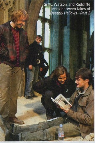 Harry Potter Is Physically Reading Words That I Physically