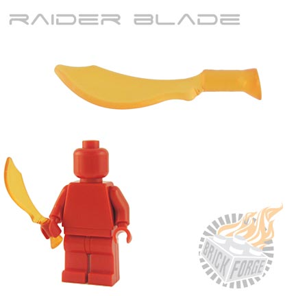 Raider Blade (of Fire) - Trans Orange