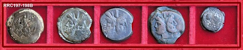 Roman Republic Anonymous Struck Bronzes, mid Second Century BC