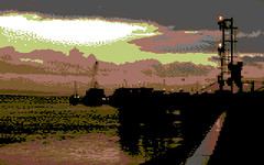 Corporation Pier, Kingston-upon-Hull [c64] (Mancunian1001) Tags: retro converted hull c64 kingstonuponhull humberside 4bit eastridingofyorkshire corporationpier robhubbard c64yourself