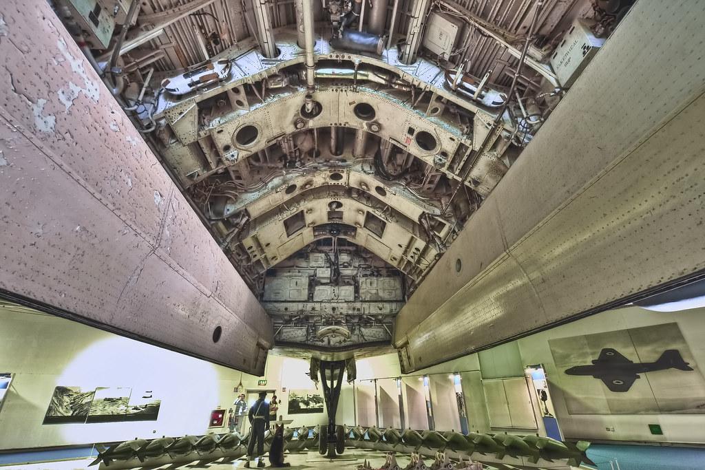Hendon, Avro Vulcan - Bomb-bay
