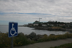 Oak Bay - Crane and Handicapped
