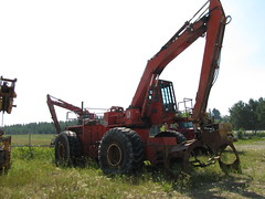 440 (The Koehring Guy) Tags: ontario mill log loader 440 pater domtar dryden koehring