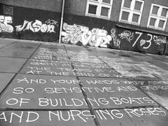 graffiti (wojofoto) Tags: streetart holland amsterdam graffiti words nederland netherland ndsm noord woorden wolfgangjosten wojofoto