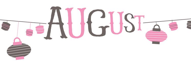 August Calendar - sneak