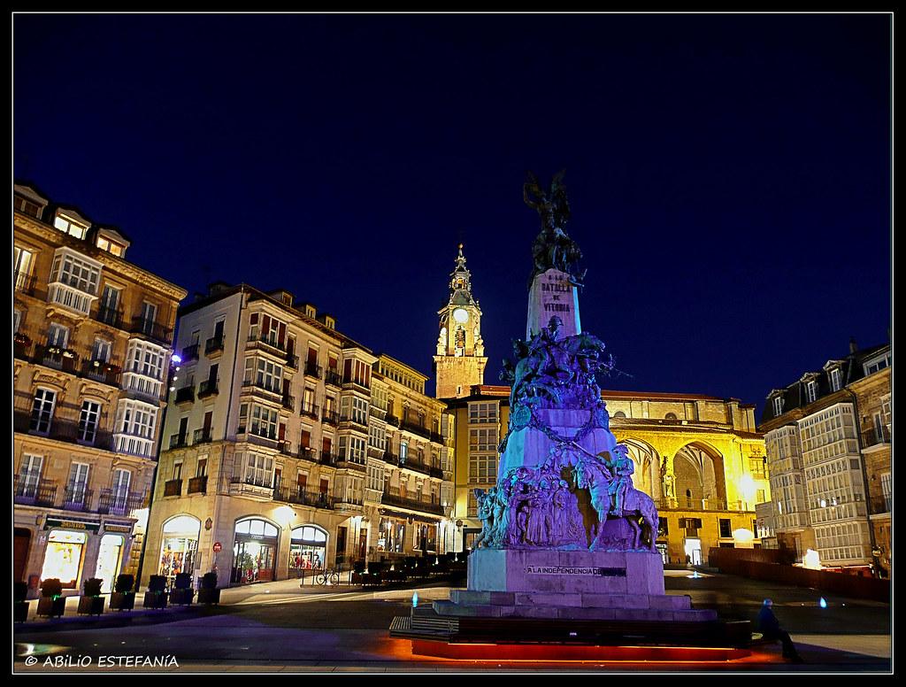 Plaza de la Blanca (Vitoria Gasteiz)