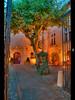 soft & peaceful (Cilou101) Tags: street tree nikon cityhall beautifullight provence cassis arbre hdr mairie d90 photomatix bellelumière hdr1raw cilou101