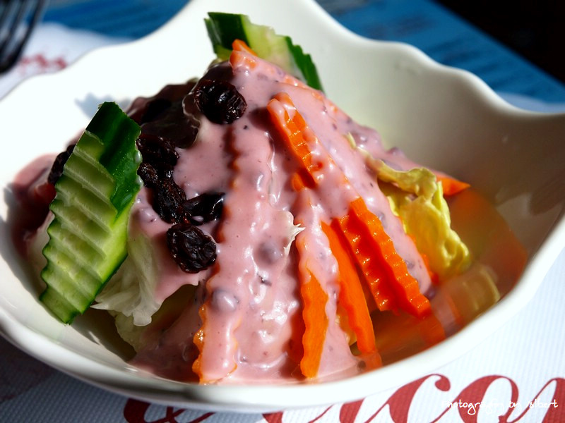 慈湖觀景台餐廳:田園沙拉
