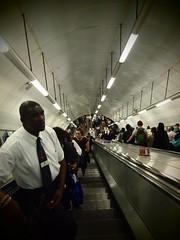 Underground (lindscatt) Tags: london train underground escalator tube londonunderground londontube escalators londontransport transportforlondon