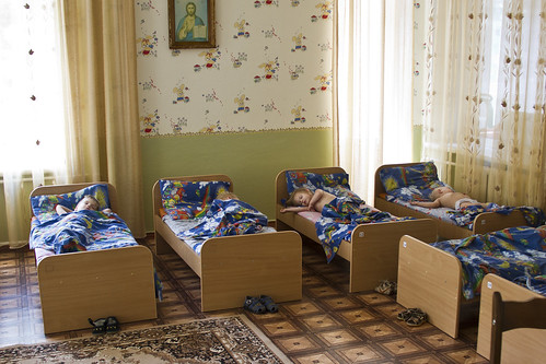 Khmelnitsky orphanage bedroom 2011