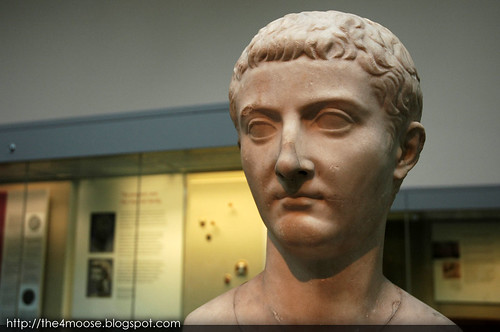 British Museum - Bust of Tiberius (Room 69-72)