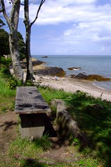A bench at Fliquet