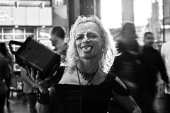 Marquette (Jeff Gish Photography) Tags: life street portrait white black love night dance nikki dancing inspired happiness nighttime hollywood performer crossdress transsexual sixx stranny