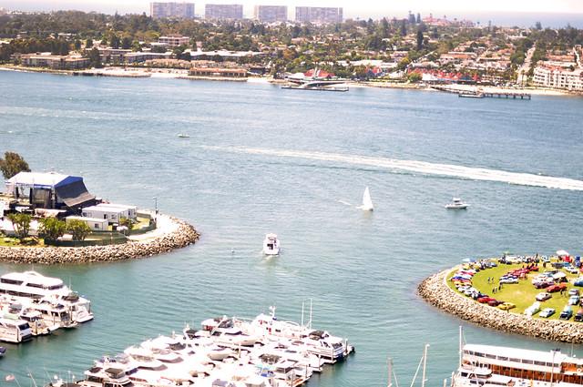 San Diego+Coronado Island+View from the Marriott