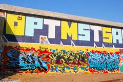 Sayme, Keep, Optimist (You can call me Sir.) Tags: california street art graffiti bay east area keep optimist northern sayme