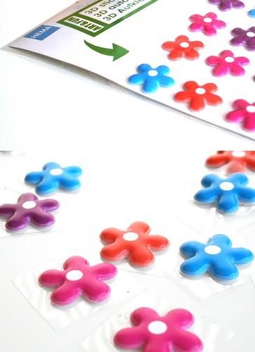 bloemenstickers