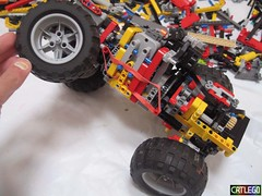 Mini 4x4 V2 (Crtlego) Tags: lego 4x4 mini technic trialtruck crtlego