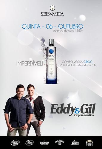 Flyer - Eddy & Gil by chambe.com.br