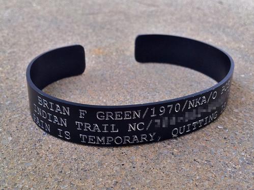 Military ID Bracelet