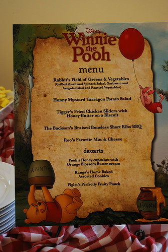 Disney Animation Menu
