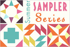 Modern Quilt Summer Sampler Series Tutorial