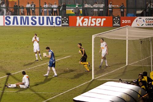 Copa Libertadores de America 2011   Santos  - Peñarol   110615-6900-jikatu 110623-7655-jikatu